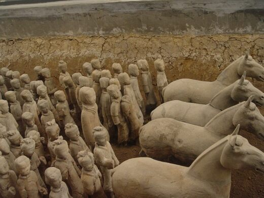 Image result for terra-cotta warriors in china