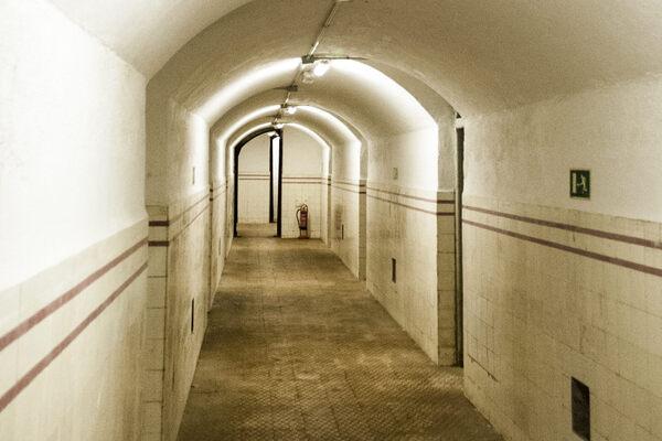 Parque el Capricho Bunker in Madrid, Spain