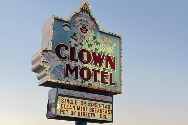 The Terror of The Clown Motel