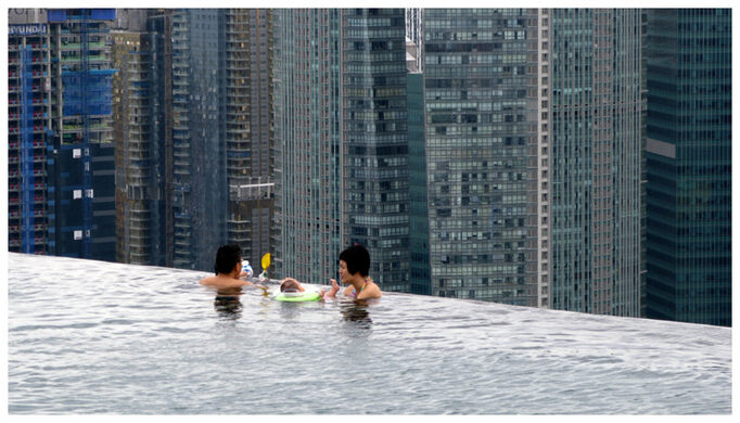 Singapore S Rooftop Pool Singapore Atlas Obscura