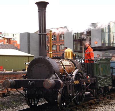 rocket steam engine