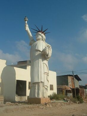 Arraba Statue Of Liberty Arraba Israel Atlas Obscura - Where is the statue of liberty located