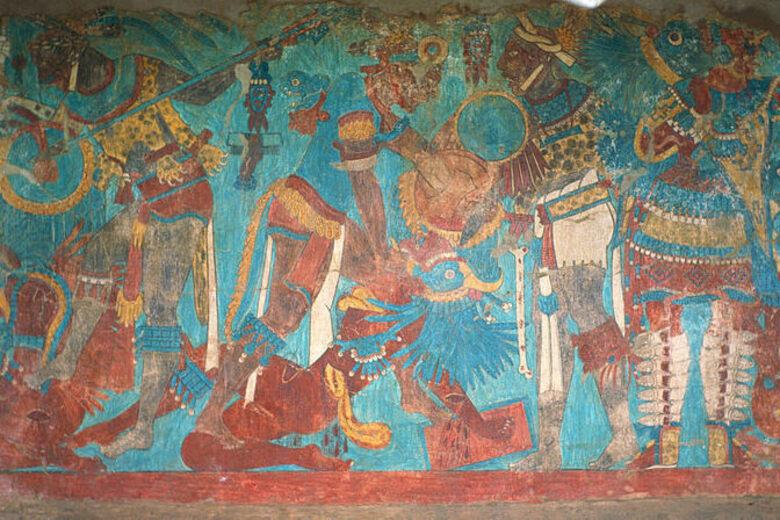 Murals of Cacaxtla – Natívitas, Mexico - Atlas Obscura