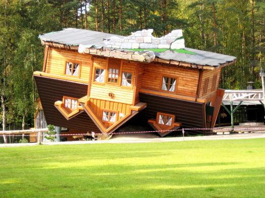 Upside Down House Szymbark Poland Atlas Obscura