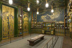 The Peacock Room.
