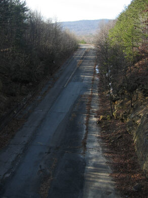 Abandoned Pennsylvania Turnpike – Breezewood, Pennsylvania