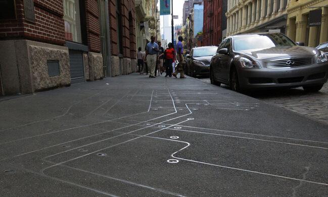 Sidewalk Subway Map Nyc.Sidewalk Subway Map New York New York Atlas Obscura