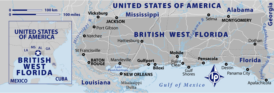 Dominion Of British West Florida Frostproof Florida Atlas Obscura - Is florida part of the united states