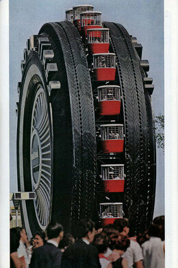 Tire Places Near Me Open Now >> Uniroyal Giant Tire – Allen Park, Michigan - Atlas Obscura