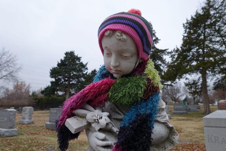 Grave of Carrie Frances Kiene