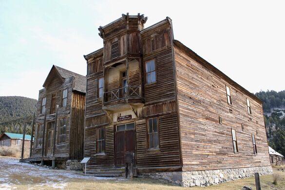 Elkhorn Ghost Town Boulder Montana Atlas Obscura