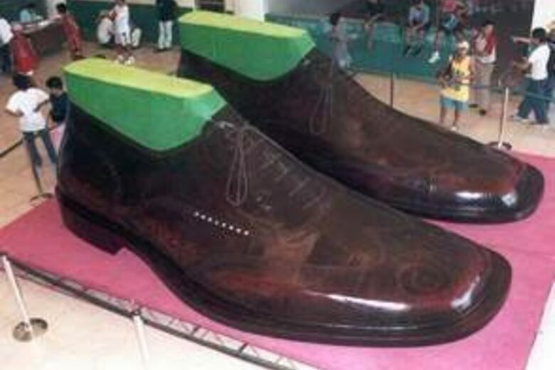 41c7a4b50c9 World's Largest Shoes – Marikina, Philippines - Atlas Obscura