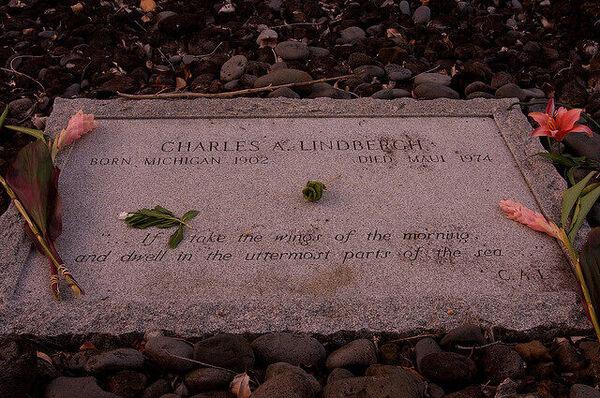 Charles Lindbergh Grave Site Hana Hawaii Atlas Obscura