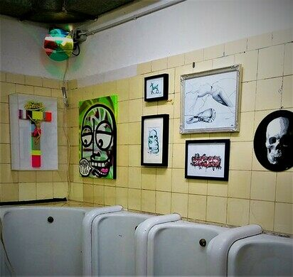 Reinraum\'s Art Exhibits in a Public Toilet – Dusseldorf, Germany ...