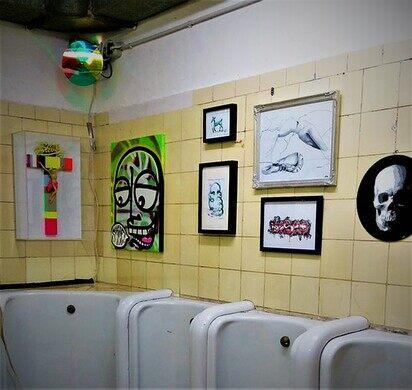 Reinraums Art Exhibits In A Public Toilet Dusseldorf Germany