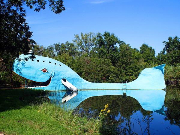 Blue Whale Of Catoosa Catoosa Oklahoma Atlas Obscura