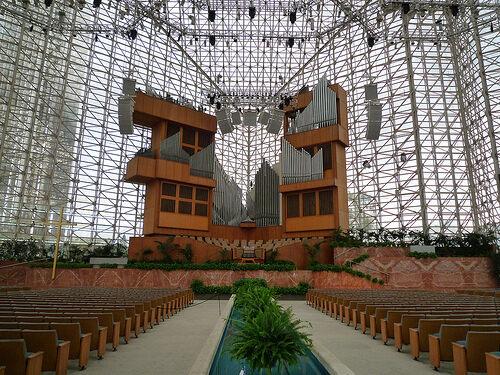 Crystal Church Christmas 2020 California Christ Cathedral (Crystal Cathedral) – Garden Grove, California