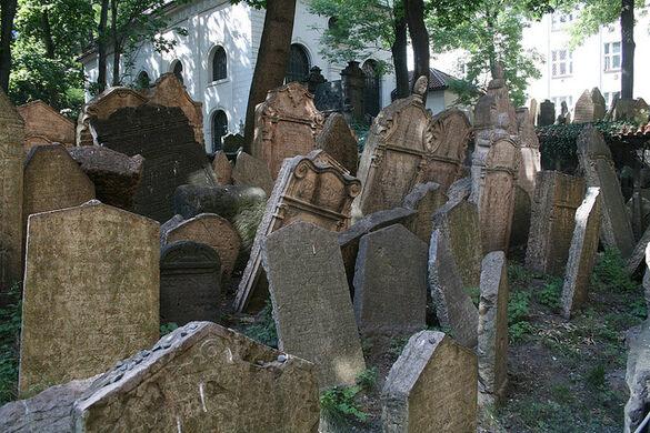 Old Jewish Cemetery Prague Czechia Atlas Obscura