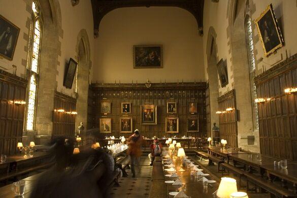 Oak Beams New College Oxford Oxford England Atlas Obscura