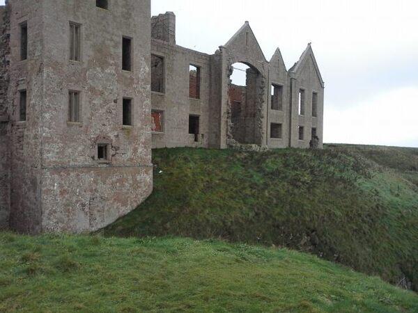 New Slains Castle Ruins Aberdeenshire Scotland Atlas