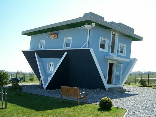 Upside Down House Of Trassenheide