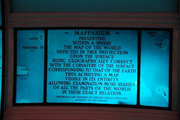 Mapparium  Boston Massachusetts  Atlas Obscura