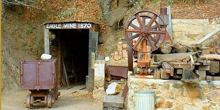 Eagle & high point gold mine julian ca