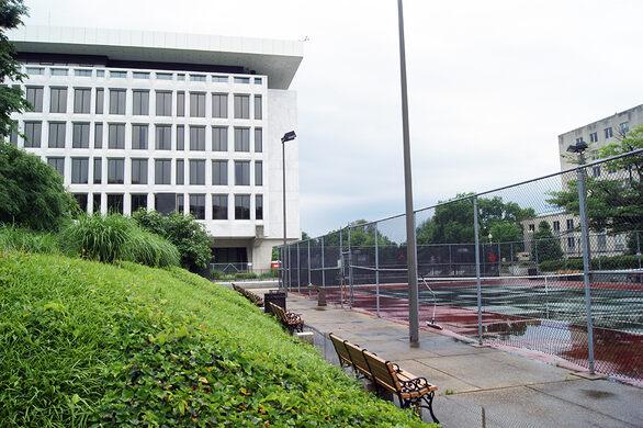 Federal Reserve Tennis Court – Washington, D C  - Atlas Obscura