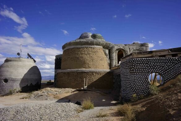 Earthships El Prado New Mexico Atlas Obscura