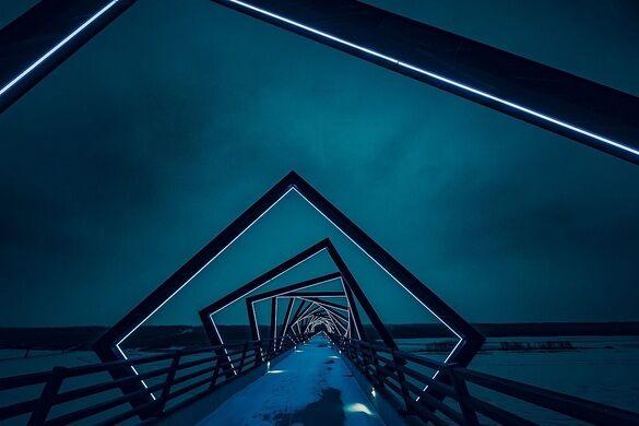 high trestle trail bridge madrid iowa atlas obscura