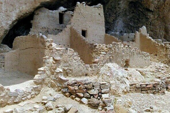 Tonto National Monument Upper Cliff Dwelling