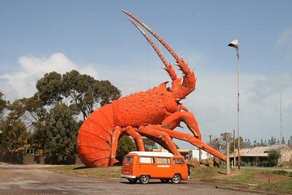 a0deaefdc0 Larry The Red Big Lobster – Kingston SE, Australia - Atlas Obscura