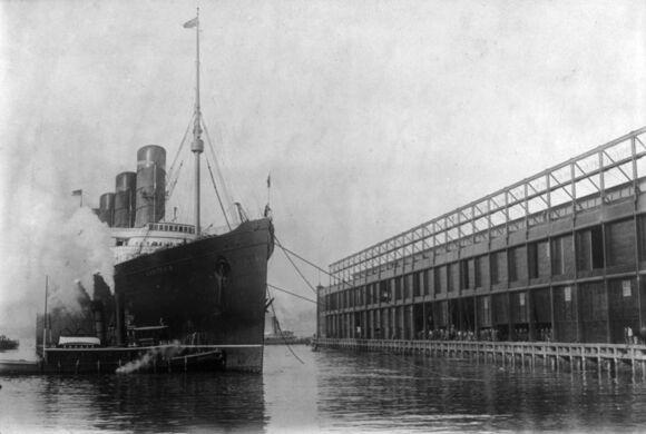 Pier 54 The Titanic S Survivors Arrival Location New