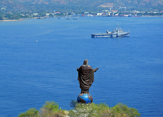 Image result for Mount Kristo Dili, Timor Leste