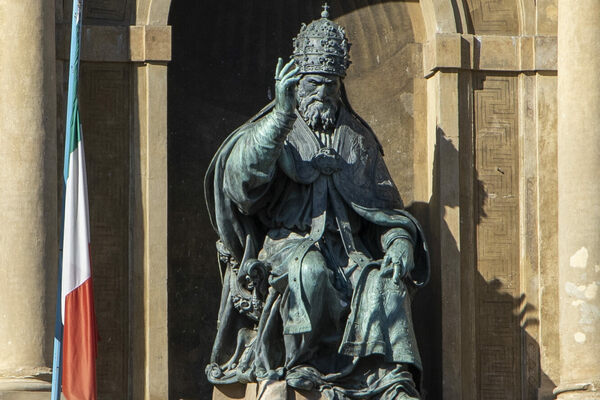Statue of Pope Gregory XIII