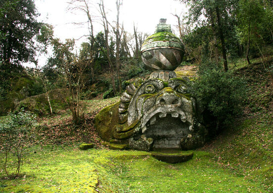The monsters of bomarzo bomarzo italy atlas obscura for Jardines de bomarzo