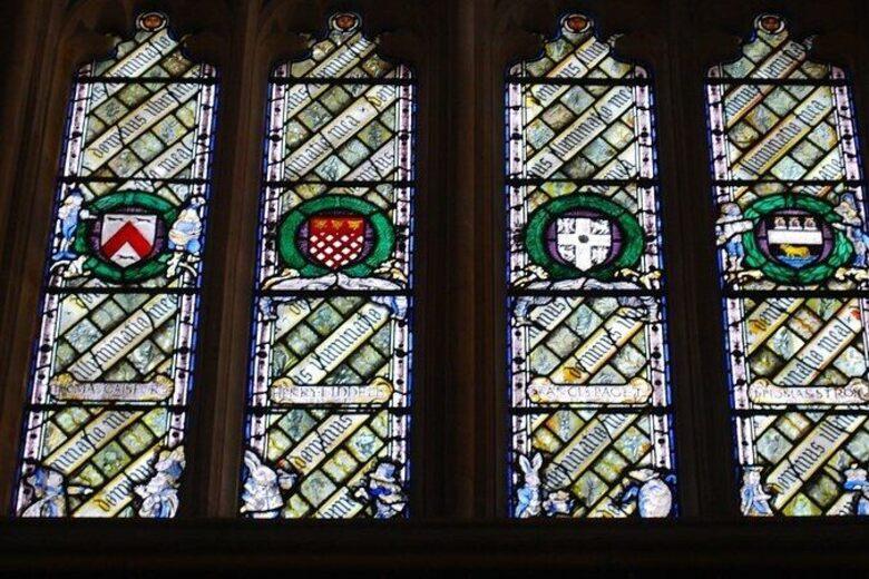 Christ Church Cathedral's 'Alice in Wonderland' Windows