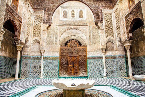 Al-Attarine Madrasa – Fez, Morocco - Atlas Obscura