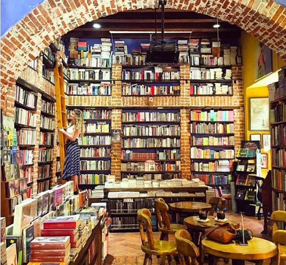 Bookstore Coffee Shop Boston