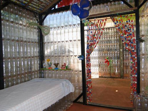 Ecological Plastic Bottle House