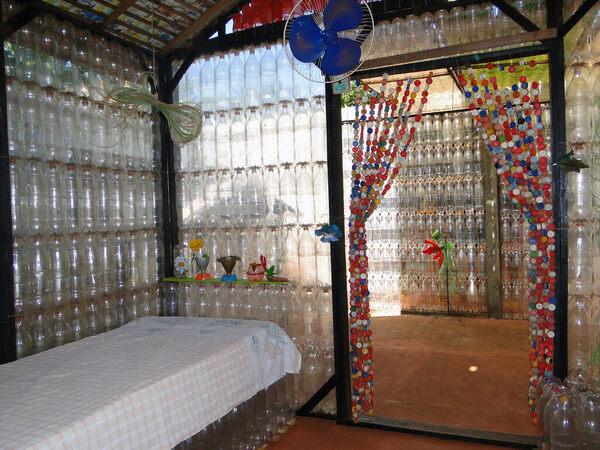 Italian Food Near Me Abandone Building Casa: Ecological Plastic Bottle House
