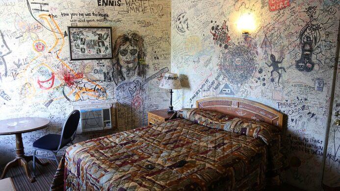 Jim Morrison Hotel Room