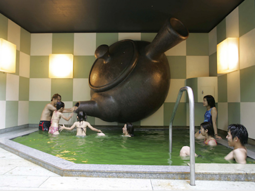Yunessun Spa Resort – Hakone, Japan - Atlas Obscura