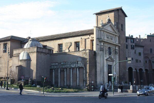 San Nicola in Carcere in Rome, Italy