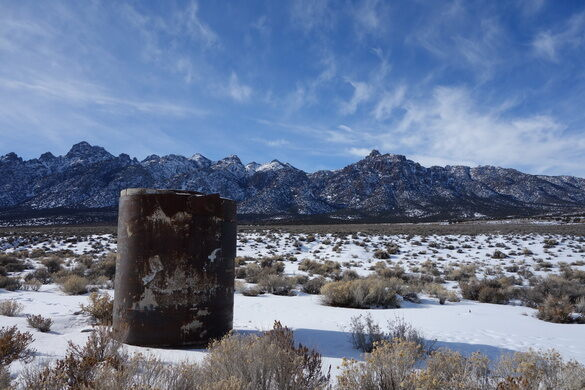 Project Faultless Site – Nye County, Nevada - Atlas Obscura