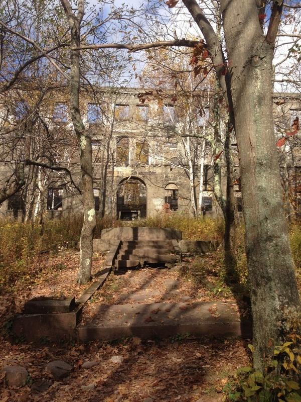 Overlook Mountain House Ruins Woodstock New York