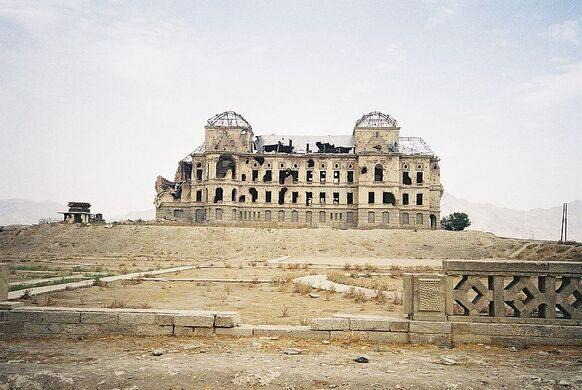 Darul Aman Palace Kabul Afghanistan Atlas Obscura