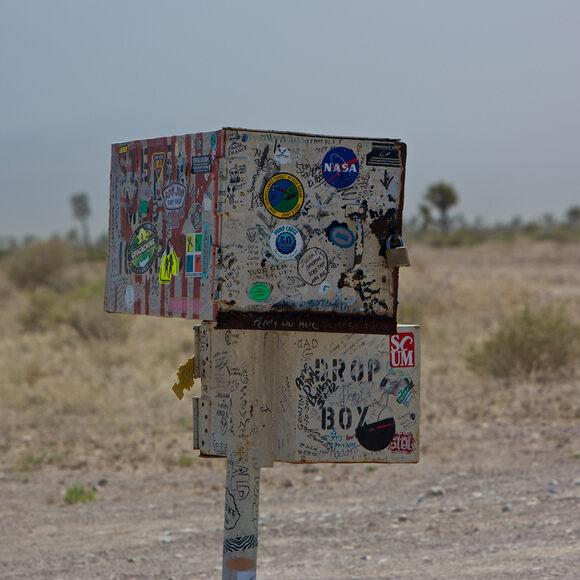 The Black Mailbox Alamo Nevada Atlas Obscura
