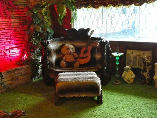 The Jungle Room At Graceland Memphis Tennessee Atlas