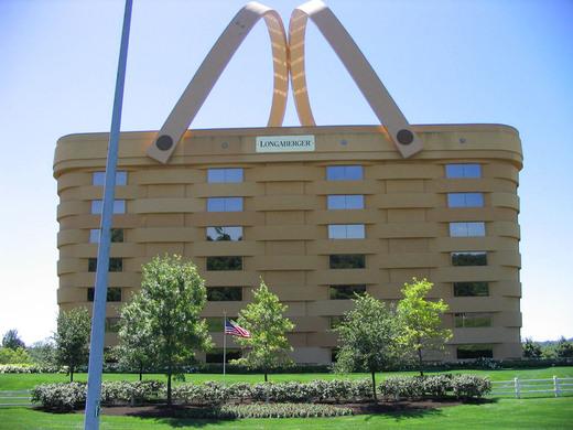 longaberger basket building newark ohio atlas obscura. Black Bedroom Furniture Sets. Home Design Ideas